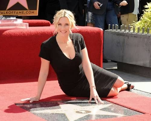 Kate Winslet and her star