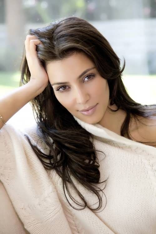 Kim Kardashian - actress and fashion model