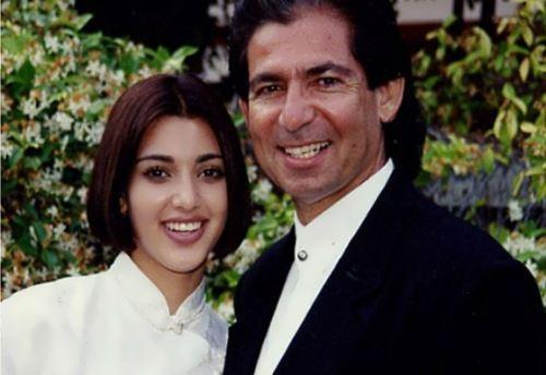 Kim Kardashian's parents in their youth
