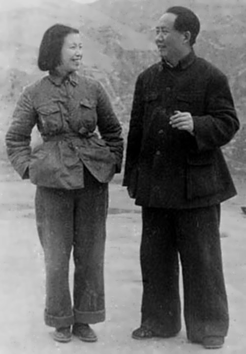 Mao Zedong and Jiang Qing