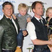 David Bartek, Neil Patrick Harris and their twins