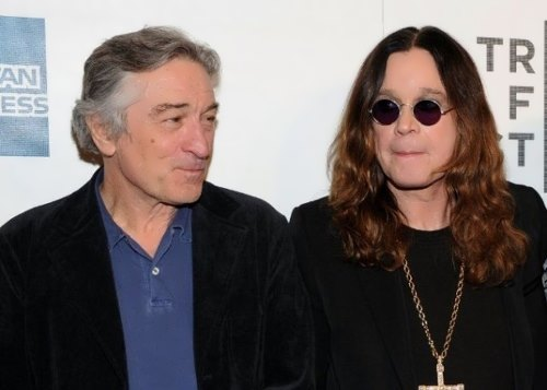 Ozzy Osbourne and Robert De Niro