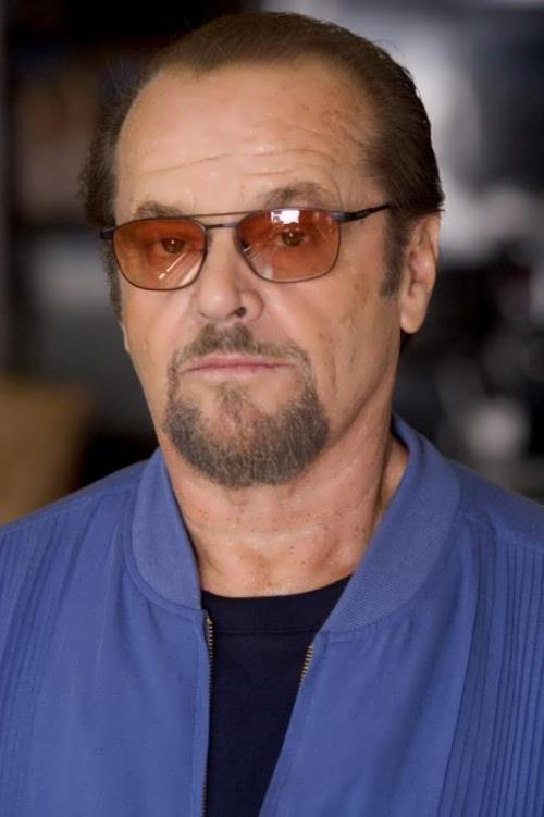 Popular actor Jack Nicholson