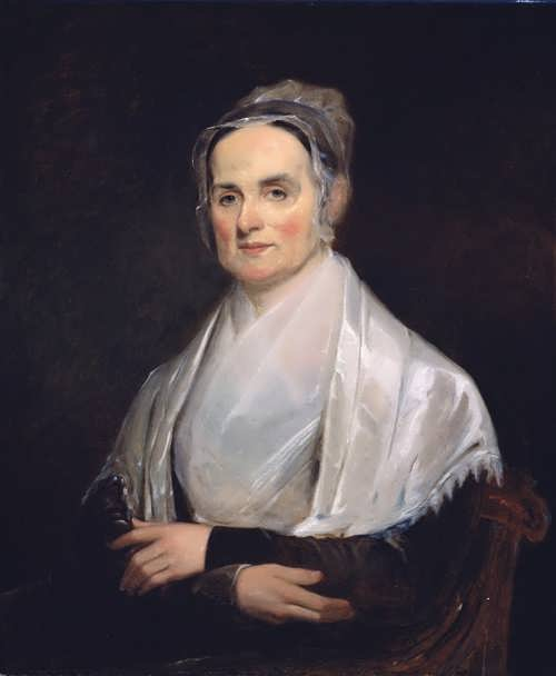 Portrait of Lucretia Mott, 1841