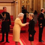 Queen Elizabeth II and Kate Winslet