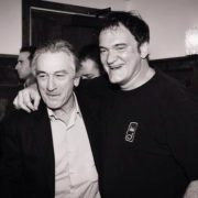 Quentin Tarantino and Robert De Niro