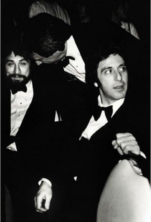 Robert De Niro & Al Pacino, NY 1982