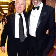 Robert De Niro & Morgan Freeman.
