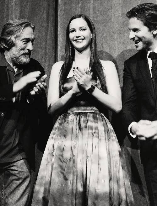 Robert De Niro. Jennifer Lawrence. Bradley Cooper.
