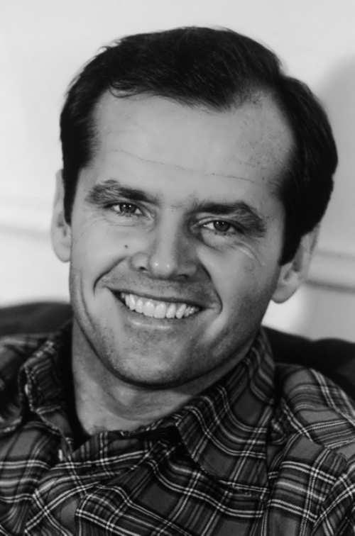 Stunning actor Jack Nicholson
