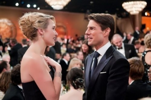 Tom Cruise and Kate Winslet