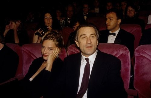 Uma Thurman and Robert De Niro