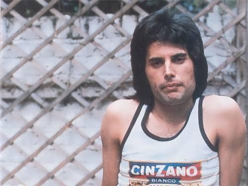 Well known Freddie Mercury