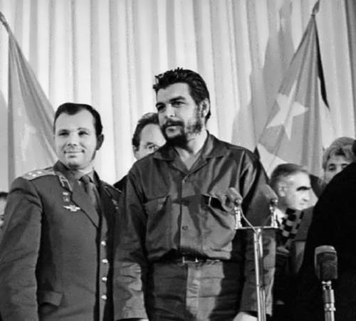 Yuri Gagarin and Guevara