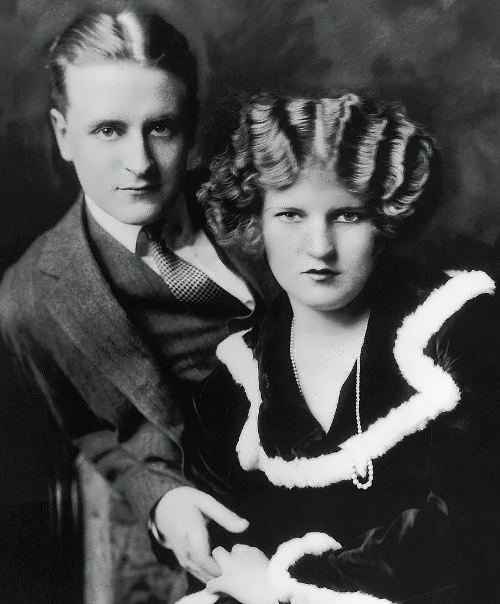 Zelda and Scott Fitzgerald - so easy to be loved, so difficult to love