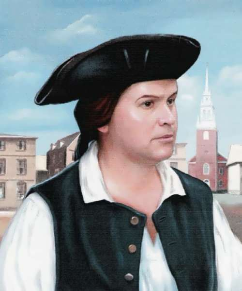 American patriot Paul Revere