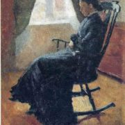 Aunt Karen in the Rocking Chair, 1883