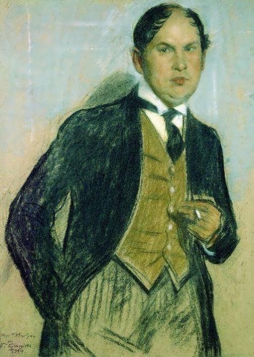 Boris Mikhaylovich Kustodiev Portrait of G. Narbut