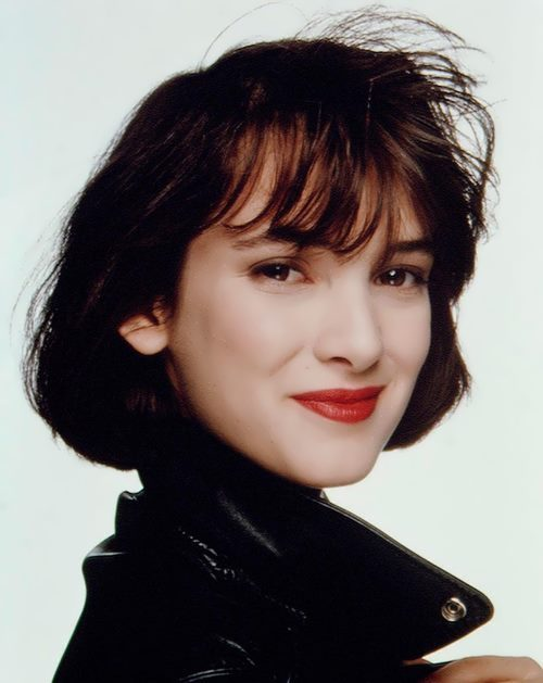 Celebrated Winona Ryder