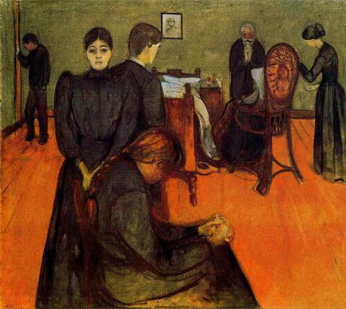 Death in the Patient's Room, 1893