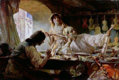 E. Bundy. Antonio Stradivari, 1893