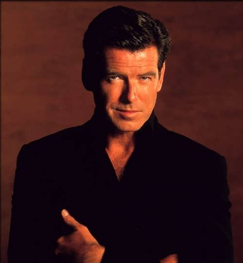 Famed Pierce Brosnan