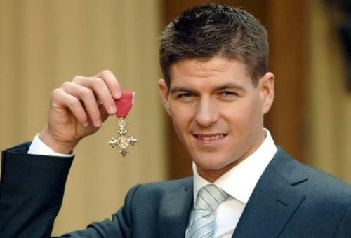 Famous Steven Gerrard
