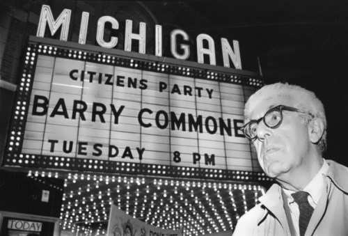 Famous scientist Barry Commoner