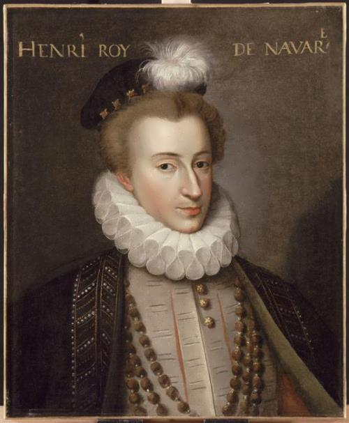 Heinrich of Navarre. Francois Clouet
