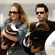 Jennifer Lopez, Marc Anthony and their twins