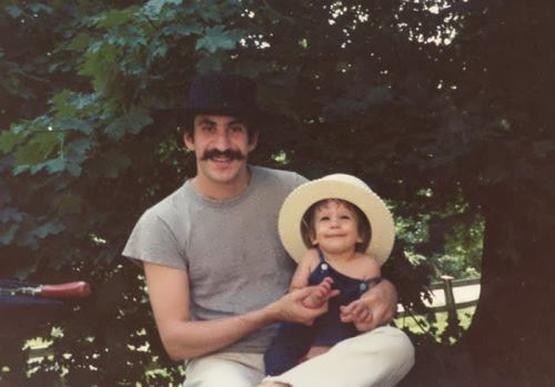 Jim Croce and his son