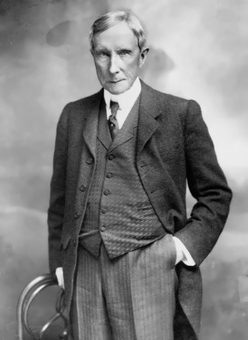 John D. Rockefeller - American industrialist