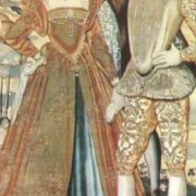 Margaret with her brother Francois (right)