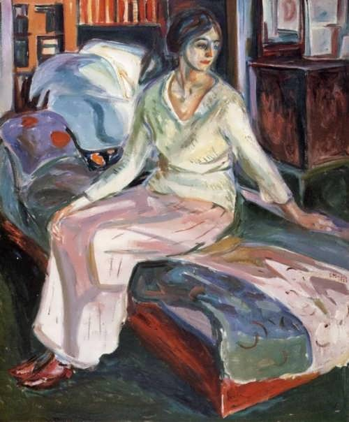 Model on the couch, 1924-1928