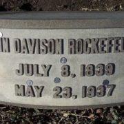 Money is even on his gravestone