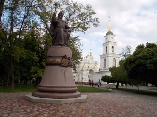 Monument to Ivan Mazepa in Poltava, opened in May 2016