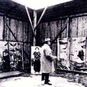 Munch in his open air studio