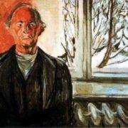 Near the window. Self-Portrait, 1942