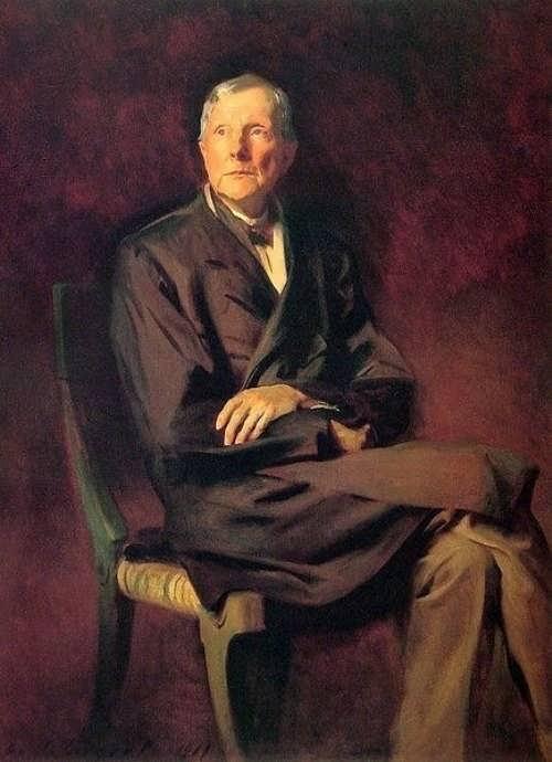 Outstanding John D. Rockefeller