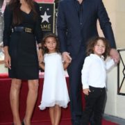 Paloma Jimenez, Vin Diesel and their children