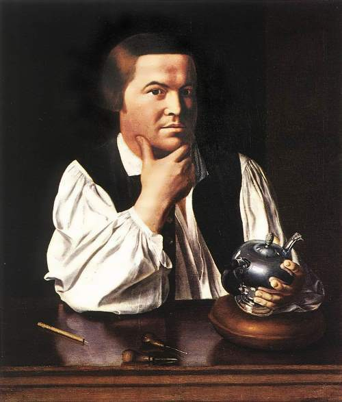 Paul Revere - hero of American Revolution