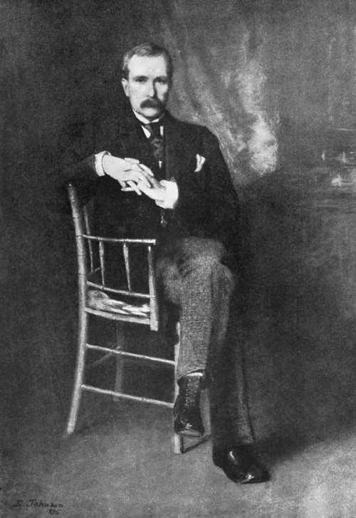 Philanthropist John Davison Rockefeller