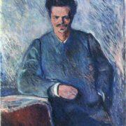 Portrait of August Strindberg, 1892
