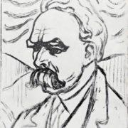 Portrait of Friedrich Nietzsche, 1906