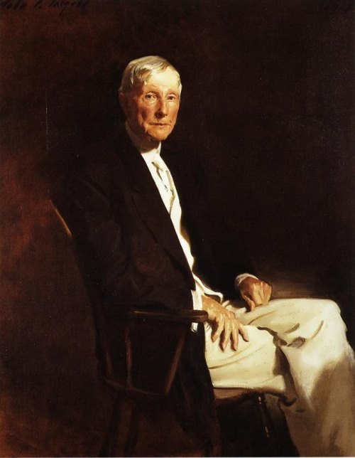 Portrait of John D. Rockefeller