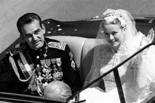 Rainier III and Grace Kelly