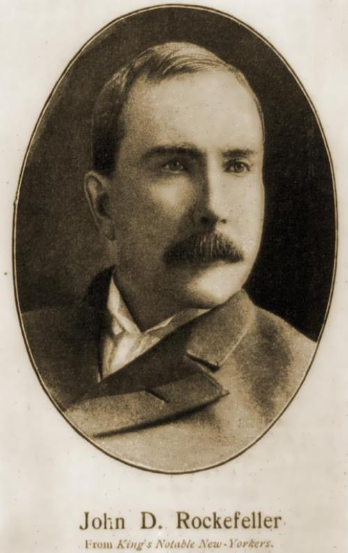 Renowned John D. Rockefeller