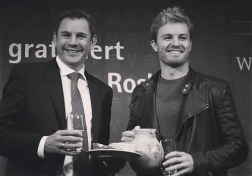 Renowned Nico Rosberg