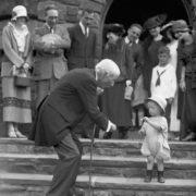 Rockefeller and little girl