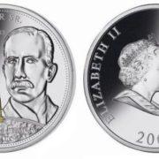 Rockefeller on the coin